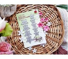 """NEW формы для вырубки """"Эльфийские цветы малые"""" от AgiArt"""