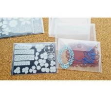 Пластиковый конверт 18*13 см